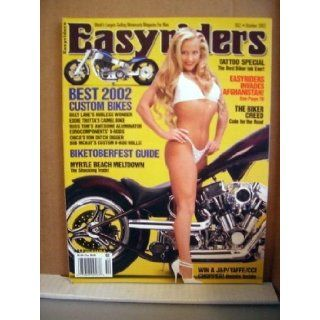 Easyriders Magazine October 2002 Tattoo Special Biketoberfest Myrtle Beach Meltdown!: BILLY LANE, EDDIE TROTTA, BOB MCKAY: Books