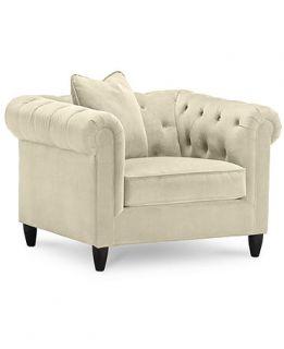 Rayna Fabric Living Room Chair, 43W x 38D x 30H Custom Colors   Furniture
