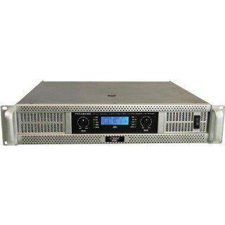 Pyle Pro PEXA8000 19'' Rack Mount 8000 Watts Professional Power Amplifier w/ Digital SMT Technology Musical Instruments