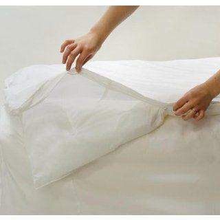 BedCare Classic White Comforter Cover Twin 66x86 Health & Personal Care