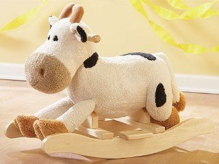 Plush Rocking Cow Toys & Games