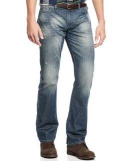 Buffalo David Bitton King Slim Bootcut Jeans, Vintage Feel Wash   Jeans   Men