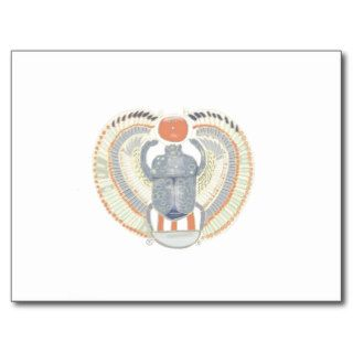 Egyptian Scarab Beetle Post Cards