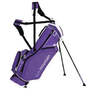 Sun Mountain 2015 Front 9 Ladies Golf Stand Bag (Purple White)  Sports & Outdoors