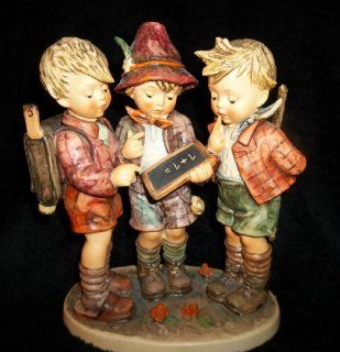 "M I Hummel ** School Boys   10"" ** Hum 170/III   Collectible Figurines"