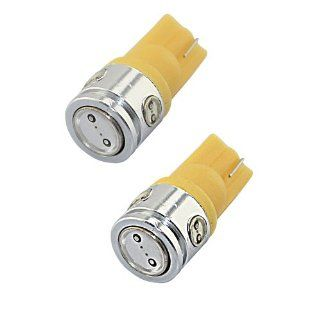 Zitrades 2x T10 194 168 2825 5 SMD Super Bright Yellow LED Car Lights Bulb for Interior Dome Lamp Bulb By Zitrades Automotive