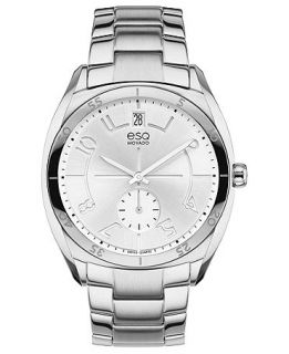 ESQ Movado Watch, Womens Swiss Origin Stainless Steel Bracelet 36mm 07101400   Watches   Jewelry & Watches