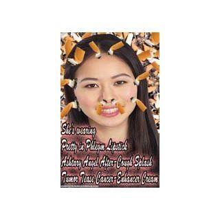 #162 Teen Girl Smoking Prevention Poster, School Poster