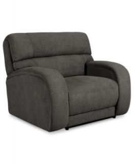 Ricardo Fabric Reclining Sofa, Dual Power Recliner 88W x 44D x 38H   Furniture