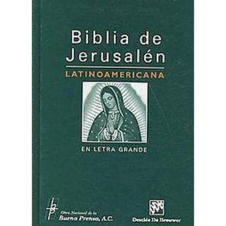 Biblia de Jerusalen Latinoamericana en Letra Gra