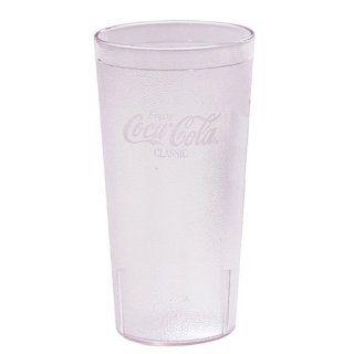 Cambro 32CC 152 Coca Cola Tumbler, 32 Ounce, Clear Kitchen & Dining