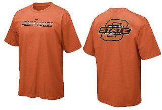 "Nike Oklahoma State Cowboys Orange ""Orange Power"" School Pride 2 Sided T Shirt (XXL52)  Sports Fan T Shirts  Sports & Outdoors"