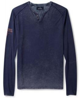 Lucky Brand Jeans Shirt, Duofold Henley Long Sleeve Shirt   T Shirts   Men