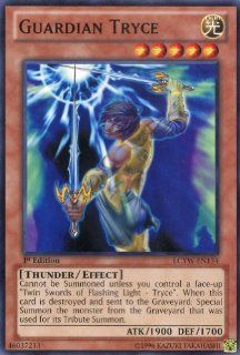 Yu Gi Oh   Guardian Tryce (LCYW EN134)   Legendary Collection 3 Yugi's World   Limited Edition   Common Toys & Games