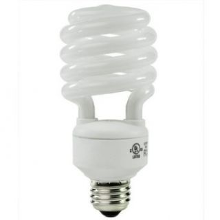 40 Watt CFL Light Bulb   Compact Fluorescent   50 W Equal   5000K Full Spectrum   80 CRI   68 Lumens per Watt   GCP 134