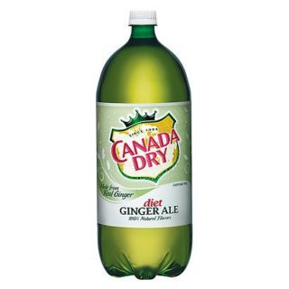 Canada Dry Diet Ginger Ale 2 l