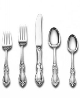 Towle Sterling Silver Flatware, Queen Elizabeth 66 Piece Set   Flatware & Silverware   Dining & Entertaining