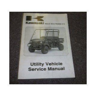 2005 Kawasaki MULE 3010 TRANS 4X4 UTILITY Service Repair Shop Manual OEM 05: kawasaki: Books