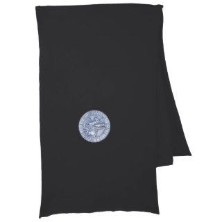 Medieval Seal of the Knights Templar Design Scarves