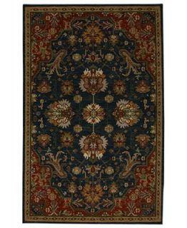 Karastan Area Rug, Studio by Karastan Crossroads Duval Indigo 25 x 4   Rugs