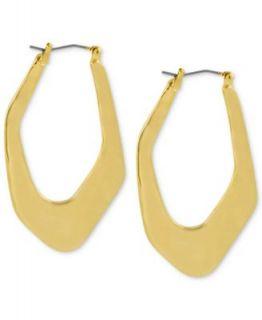 Robert Lee Morris Gold Tone Black Leather Friendship Bracelet   Fashion Jewelry   Jewelry & Watches