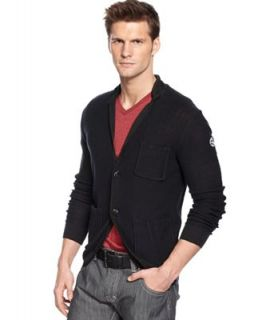 Armani Jeans Sweater, Two Button Blazer Cardigan   Sweaters   Men
