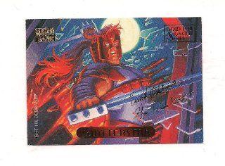 MARVEL MASTERPIECES Shatterstar #107 Gold Foil Signature Series Card 1994