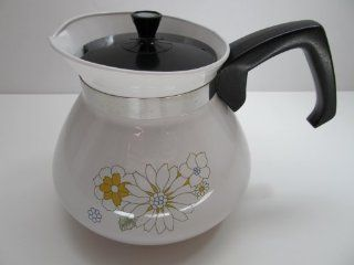 "Corning Ware ""Floral Bouquet"" Teapot 6 Cup P 104 4 : Corningware : Everything Else"