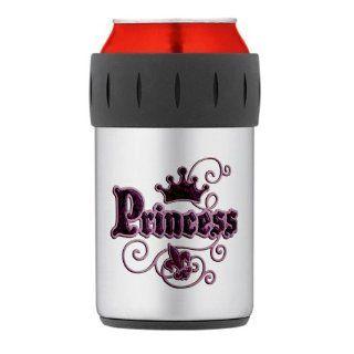 Thermos Can Drink Cooler Fleur De Lis Princess  Cold Beverage Koozies