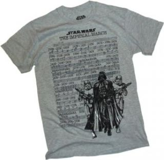 The Imperial March    Star Wars T Shirt, XX Large Movie And Tv Fan T Shirts Clothing