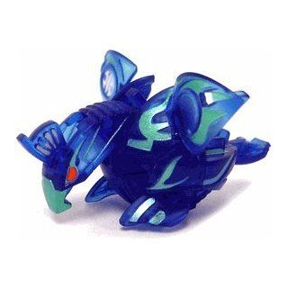 BAKUGAN SEASON 2 WAL MART EXCLUSIVE EVOLUTION NEW LOOSE TRANSLUCENT AQUOS BLUE SKYRESS 530G: Toys & Games