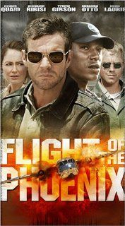 Flight of the Phoenix [VHS]: Dennis Quaid, Miranda Otto, Giovanni Ribisi, Tyrese Gibson, Tony Curran, Sticky Fingaz, Jacob Vargas, Hugh Laurie, Scott Michael Campbell, Kevork Malikyan, Jared Padalecki, Paul Ditchfield, John Moore, Alex Blum, John Davis, Ri