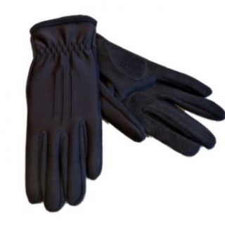Isotoner Impressions Womens Navy Blue Stretch Driving Gloves with Gathered Wrist at  Women�s Clothing store: Cold Weather Gloves
