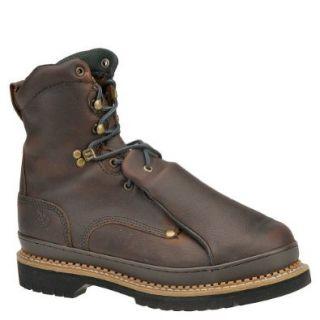 "Georgia Men's Giant Met Guard 8"" Work Boot Steel Toe Shoes"