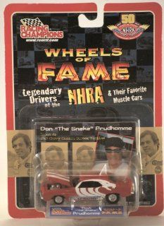 "Racing Champions Wheels of Fame Don ""The Snake"" Prudhomme 1969 Chevy Camaro Street Machine: Toys & Games"