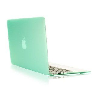 "TopCase Rubberized Hard Case Cover for Macbook Air 13"" (A1369 and A1466) with TopCase Mouse Pad (GREEN) Computers & Accessories"