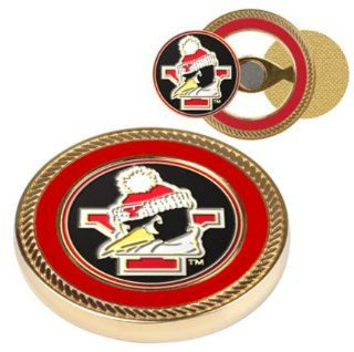 Youngstown State Penguins Challenge Coin with Ball Markers (Set of 2)  Golf Ball Markers  Sports & Outdoors