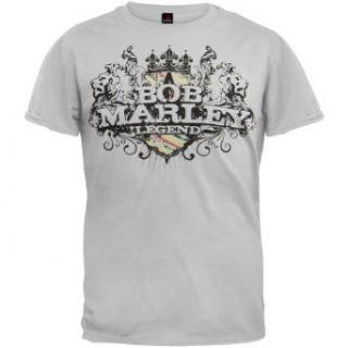 Bob Marley   Lion Emblem T Shirt Clothing