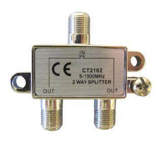 Allen Tel CT2102 Coaxial 1 GHz 2 Way Splitter