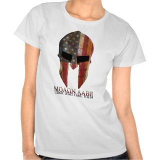 Molon Labe   Come and Take Them USA Spartan T Shirts