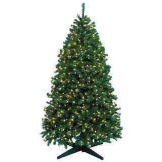 9 ft. x 60 in.   Highland Fir   2525 Classic PVC Tips   1500 Clear Mini Lights   Barcana Artificial Christmas Tree