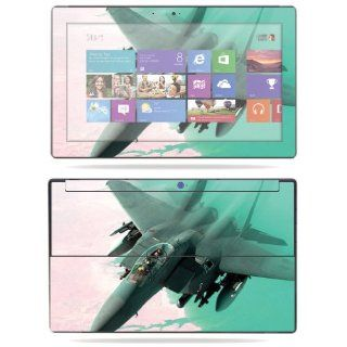 """MightySkins Protective Skin Decal Cover for Microsoft Surface RT Tablet 10.6"""" screen Sticker Skins Fighter Jet Computers & Accessories"""