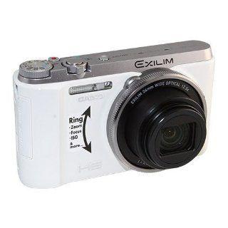 NEW CASIO Exilim EX ZR1000 16.1MP 12.5X 3'' LCD High Speed Digital Camera   White Support English Language & Provide English Menu IGN Beauty