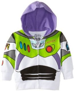 Disney Boys 2 7 Buzz Lightyear Hoody Toddler Clothing
