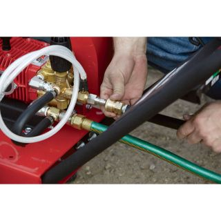 NorthStar Gas Cold Water Pressure Washer — 3.5 GPM, 4000 PSI, Model# 1572041  Gas Cold Water Pressure Washers