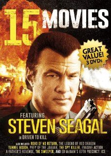 15 Movie Action Collection V.4: Steven Seagal, Chuck Norris, Michael Madsen, David Carradine, Fred Ward, Antonio Sabato Jr., Dale Midkiff, Joe Pantoliano, Brian Dennehy, Lorenzo Lamas, Roy Scheider, Jeff Fahey, C. Thomas Howell, Fifteen Features: Movies &a
