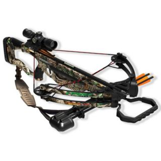 Barnett Velocity Raptor FX Crossbow Package with 3x32 Premium Illuminated Scope 783886