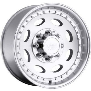 Vision Hauler Single 19.5 Machined Wheel / Rim 8x170 with a 0mm Offset and a 125.2 Hub Bore. Partnumber 81B 9770M0 Automotive