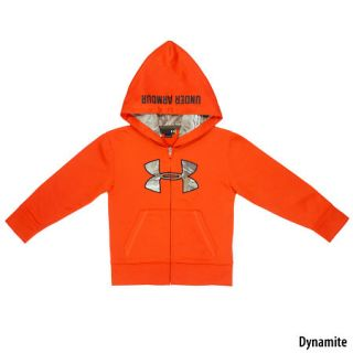 Under Armour Boys Hunt Big Logo Full Zip Hoodie 758023