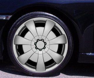 Radkappen AXEL silber 15 Zoll Citroen Berlingo, C2, C3, Pluriel, X TR, Picasso, C4 Coupe, C5 Break, C8, DS3: Auto